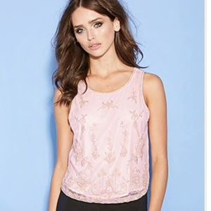 Light Pink Top with Beads from Forever 21